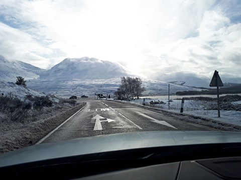 Scottish road trip in our BMW 440i Gran Coupe