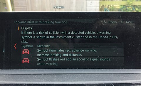 BMW 4-series Gran Coupe digital instruments
