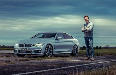 CAR magazine's Ben Barry and our new 2018 BMW 4-series Gran Coupe
