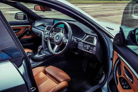 BMW 4-series Gran Coupe long-term test review by CAR magazine: the interior