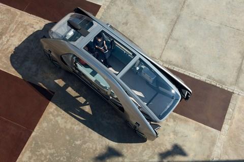 Renault EZ-GO concept top view