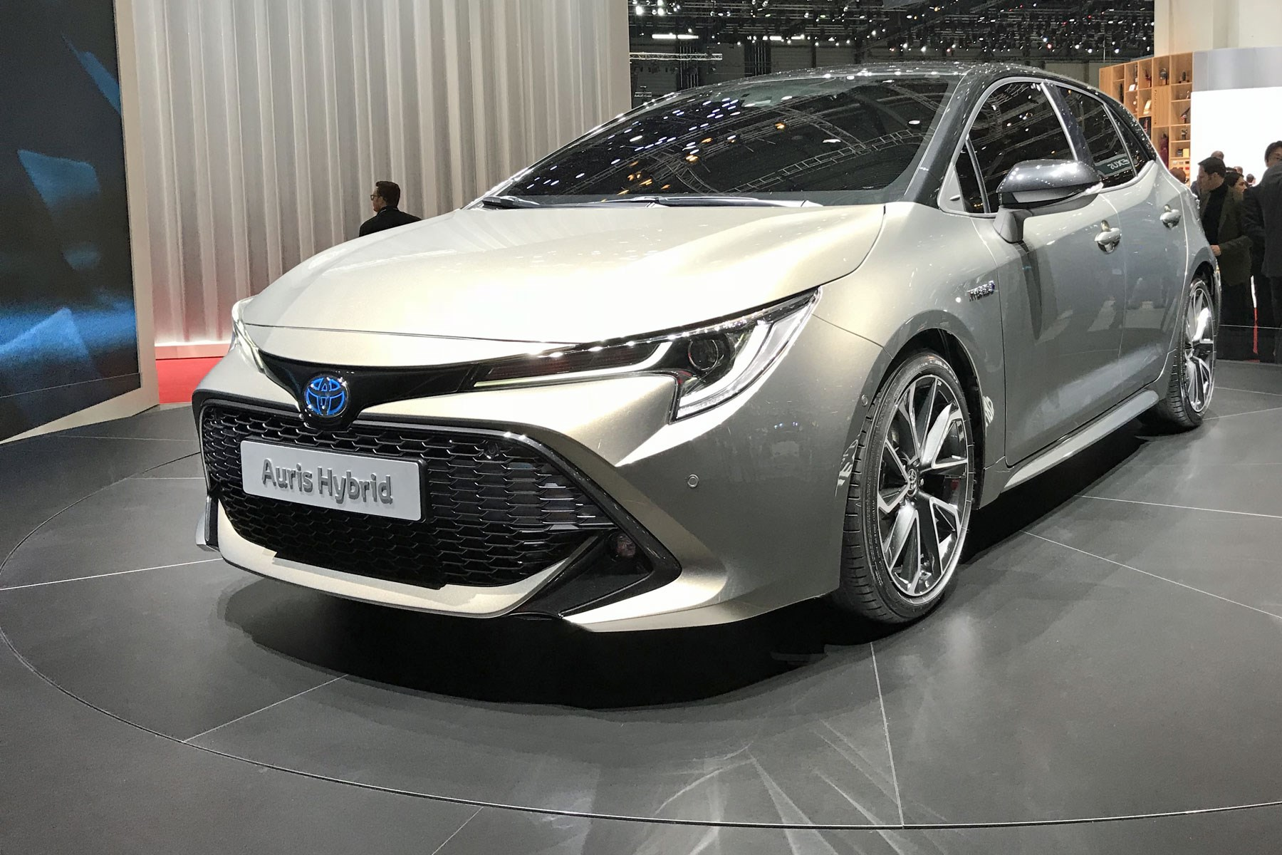 New 2019 Toyota Auris At The 2018 Geneva Motor Show ...