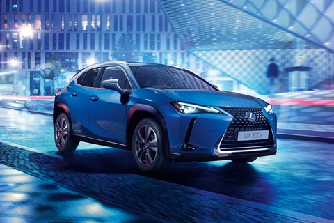 Lexus UX electric