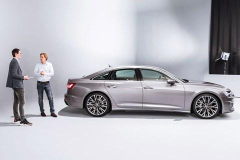 Audi A6 designer chat