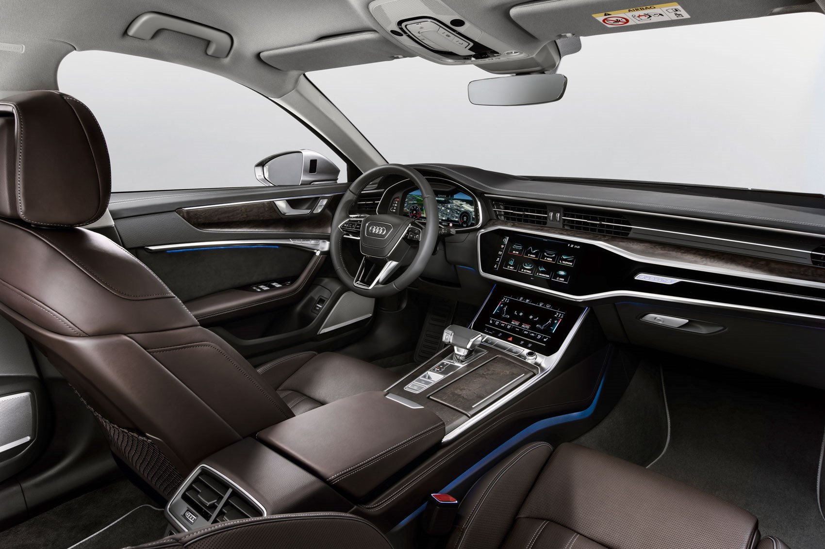Audi A Saloon Interior Price And Release Date CAR Magazine - Audi s6 interior