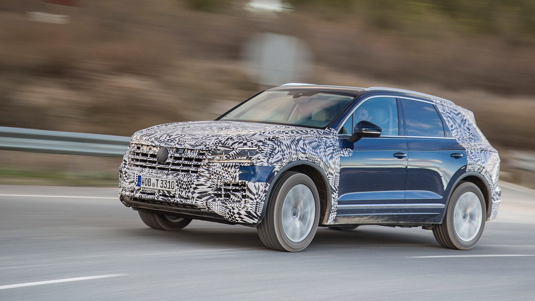 New VW Touareg Mk3: a prototype review by CAR magazine