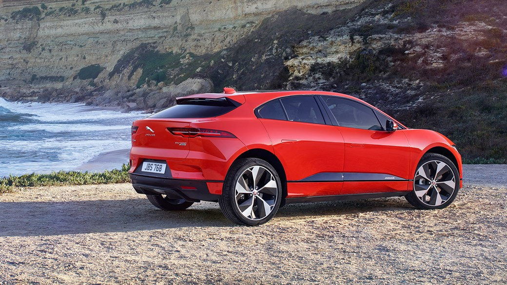 The New All Electric 2018 Jaguar I Pace