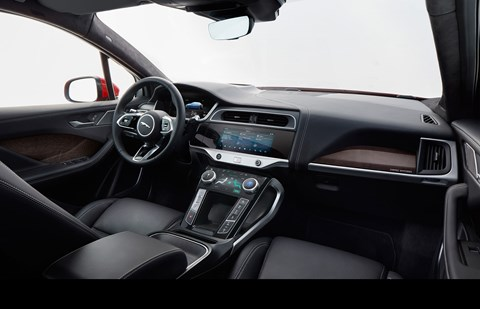 Jaguar i-Pace interior
