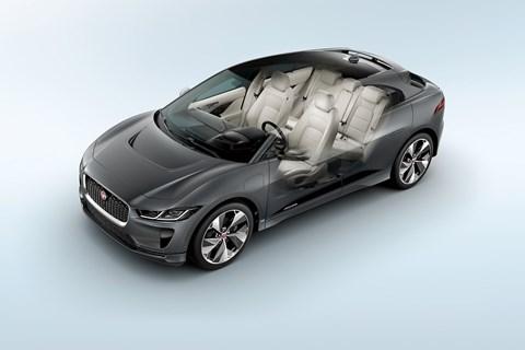 Jaguar i-Pace cutaway