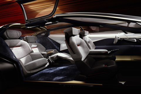 Lagonda interior overview
