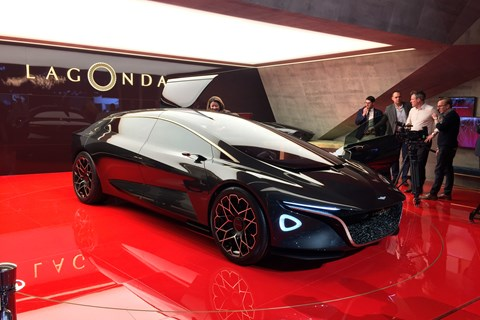 Lagonda Vision concept at Geneva 2018
