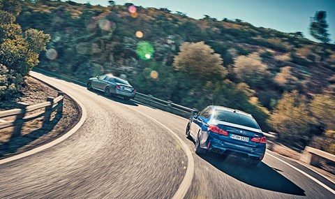 BMW M5 vs Mercedes-AMG E63: CAR magazine twin-test review