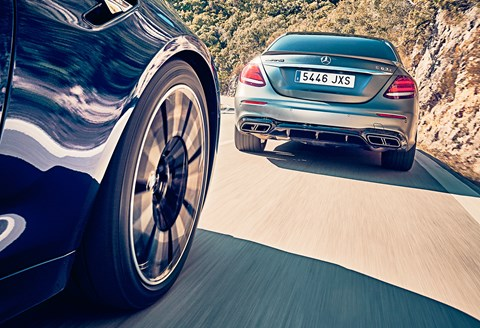 BMW M5 price is £89,640, Mercedes-AMG E63 £87,375