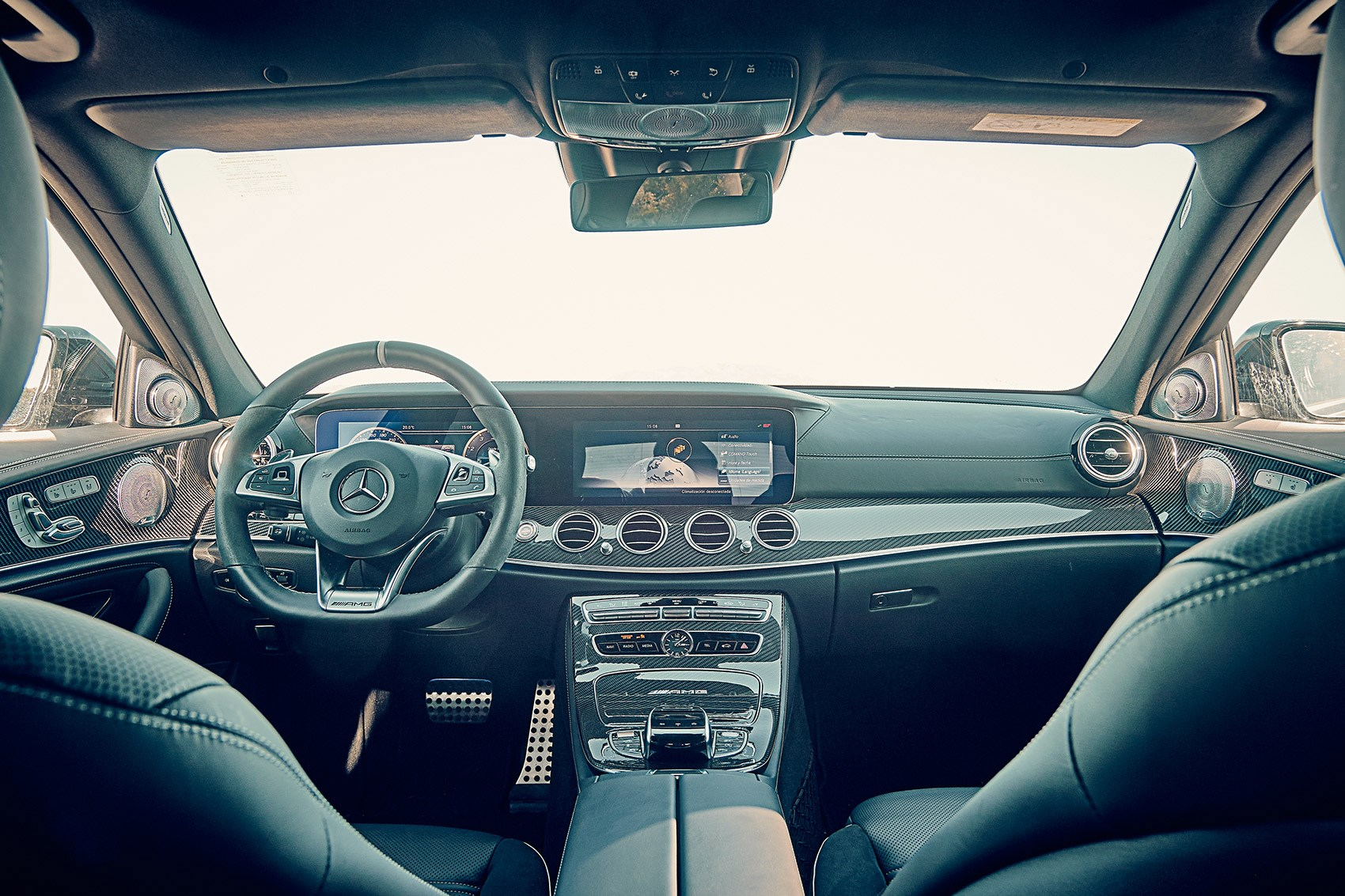 ... Cabin of new 2018 BMW M5 ...