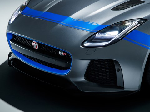 Yeni 2018 Jaguar F tipi SVR için Grafik Paketi