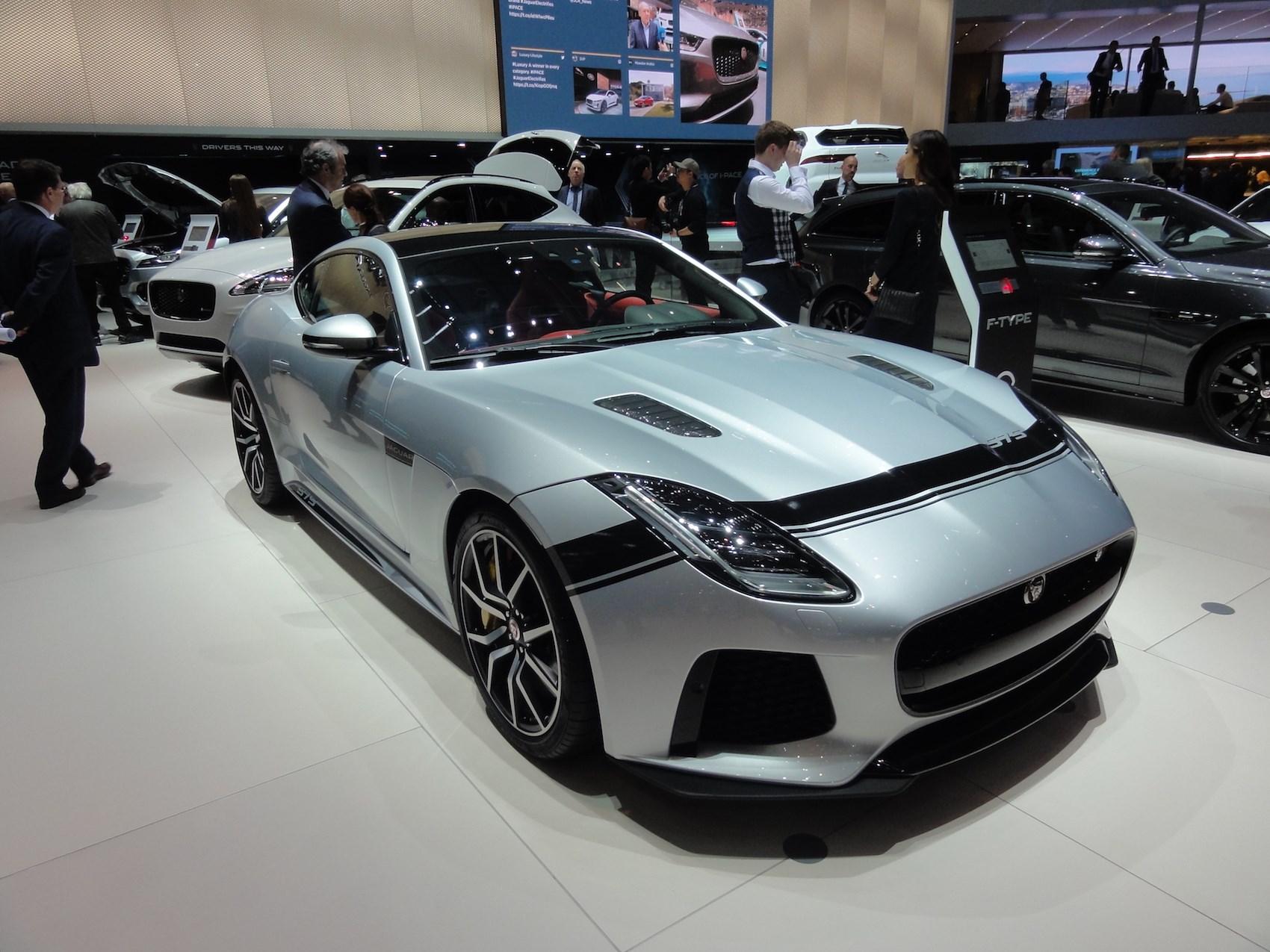 The New Jaguar F Type SVR Graphic Pack ...