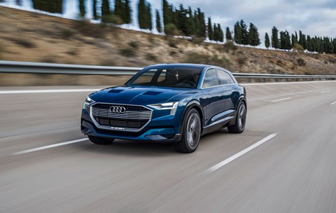 The Audi e-Tron concept car: soon it'll be real