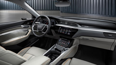 Audi e-Tron interior