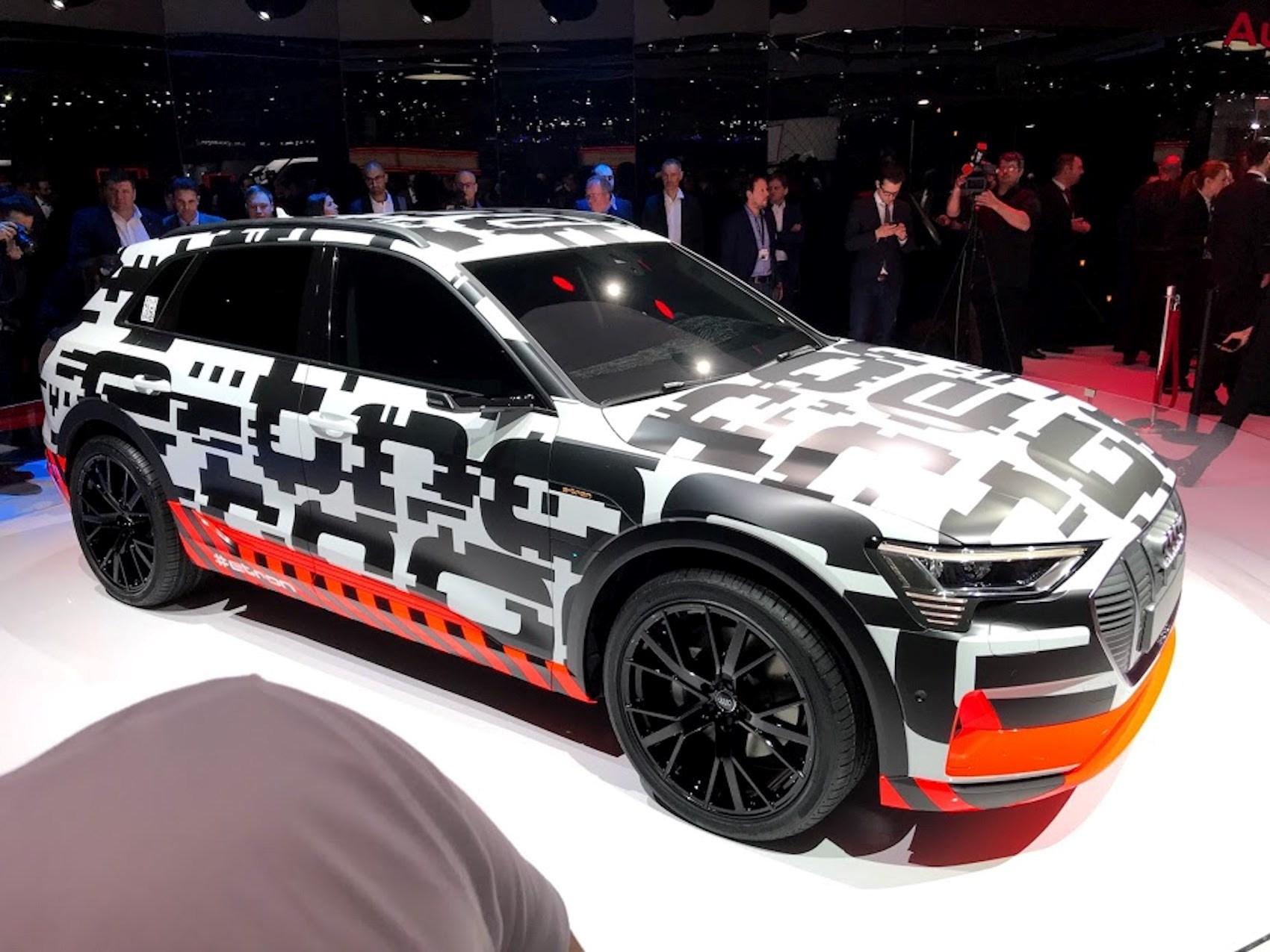 ... Audi E Tron ...