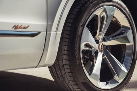 Bentayga Hybrid wheel