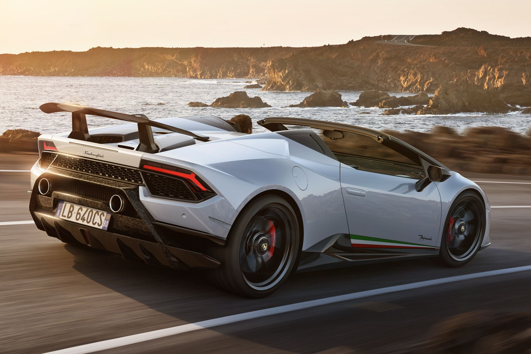 The 2019 Lamborghini Huracan Performante Spyder