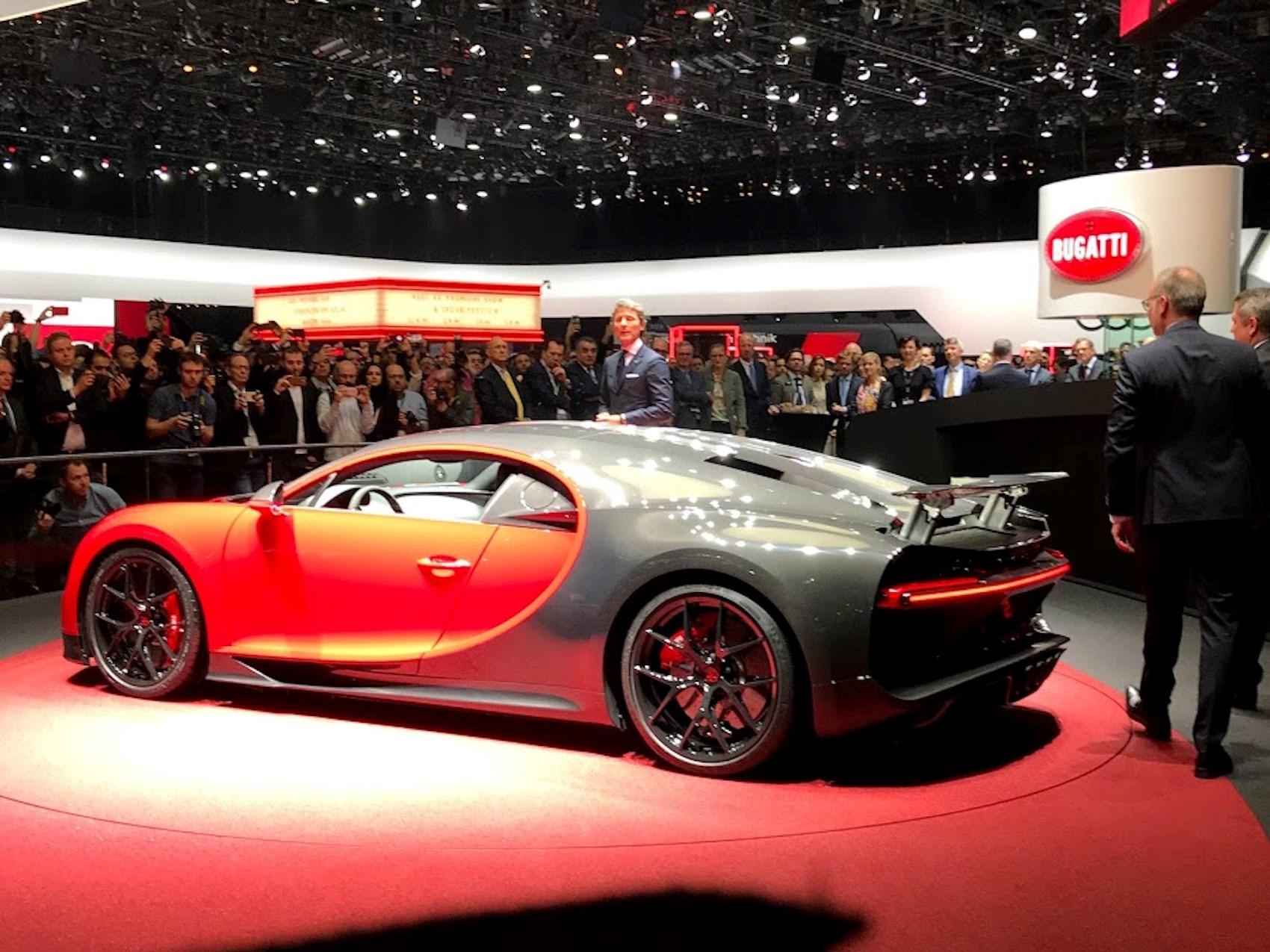 bugatti chiron sport lighter nimbler but just as powerful car magazine. Black Bedroom Furniture Sets. Home Design Ideas