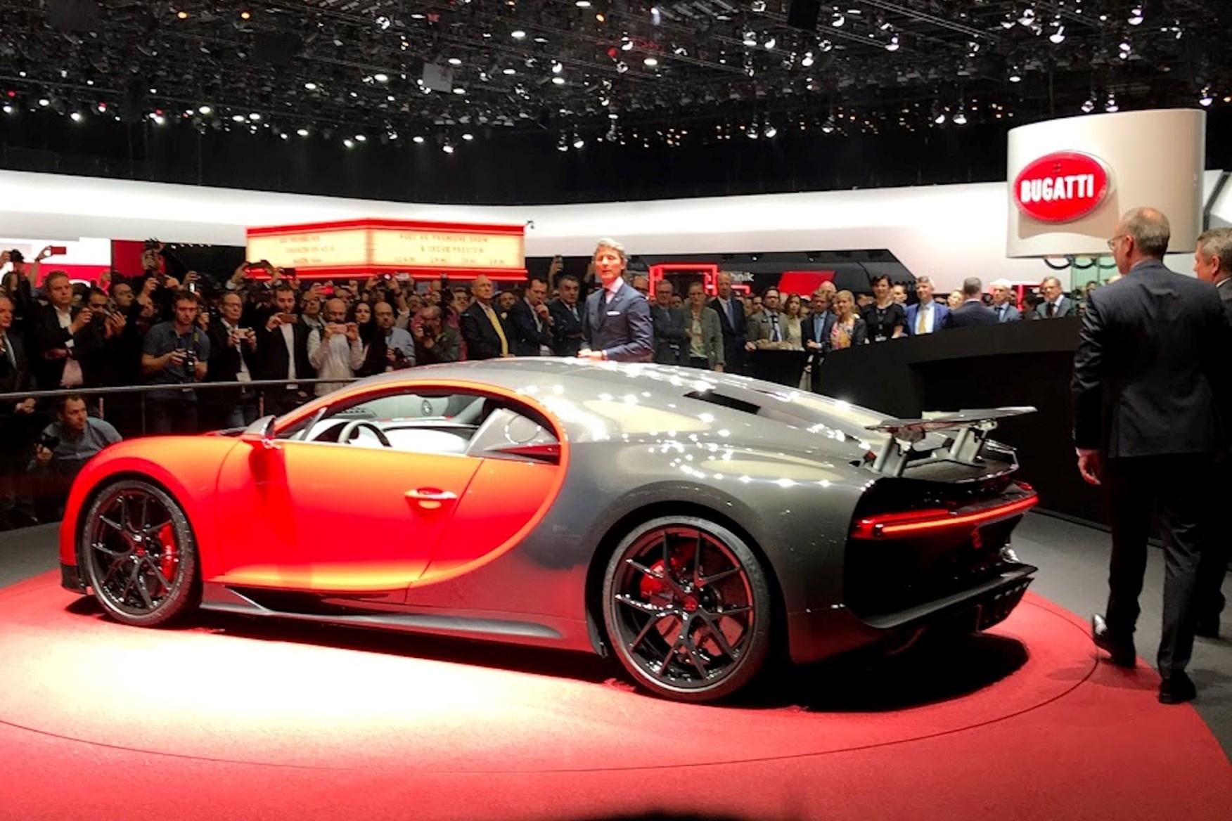 Has Bugatti Just Teased A Harder Sportier Chiron Car Magazine