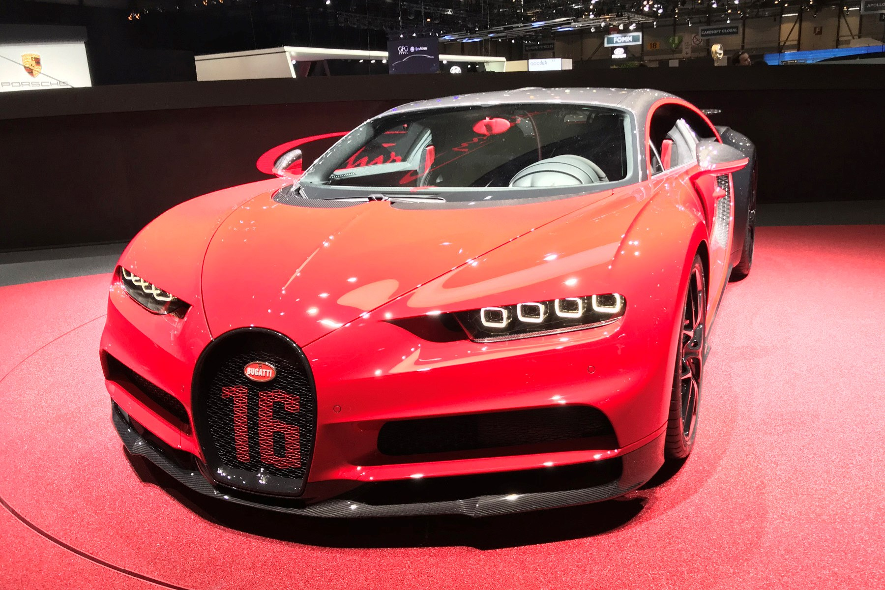 Bugatti Chiron Sport is more hardcore with better handling