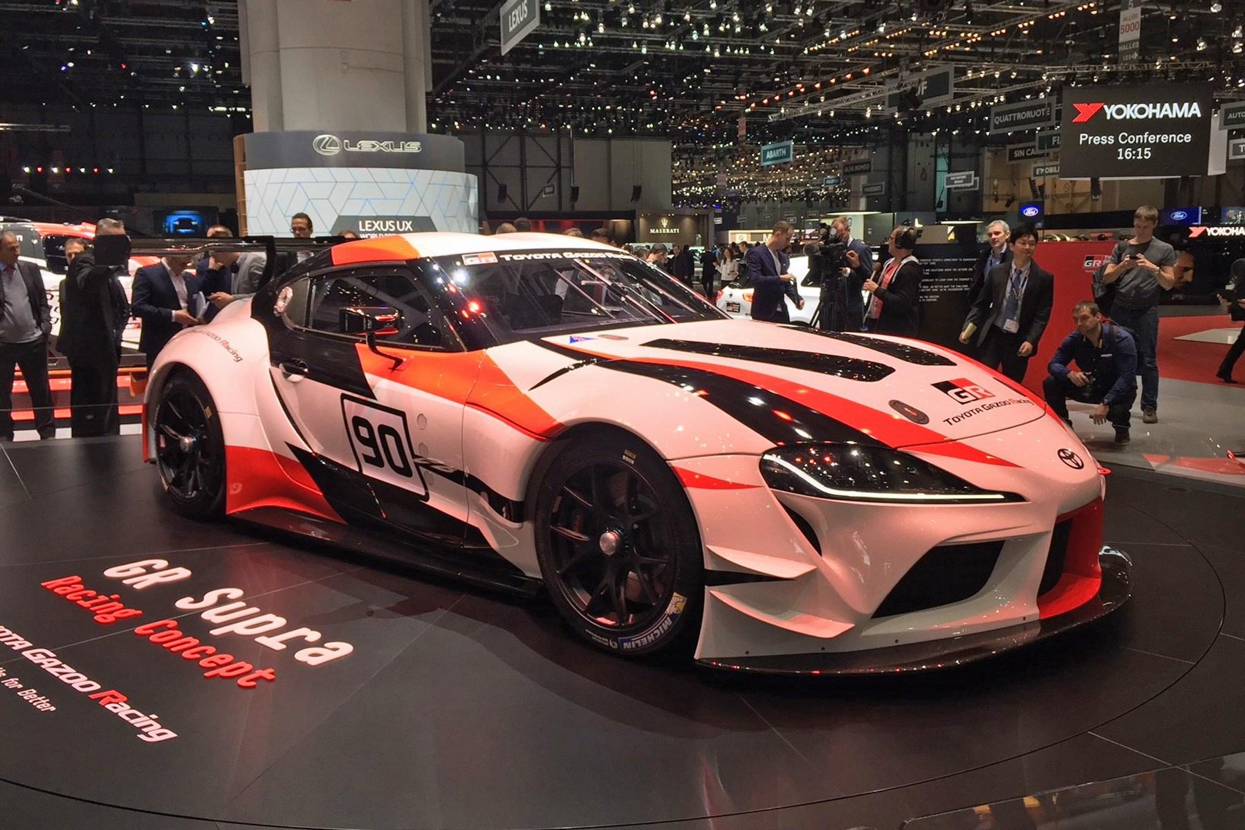 Geneva Motor Show: Toyota Unveils GR Supra Racing Concept