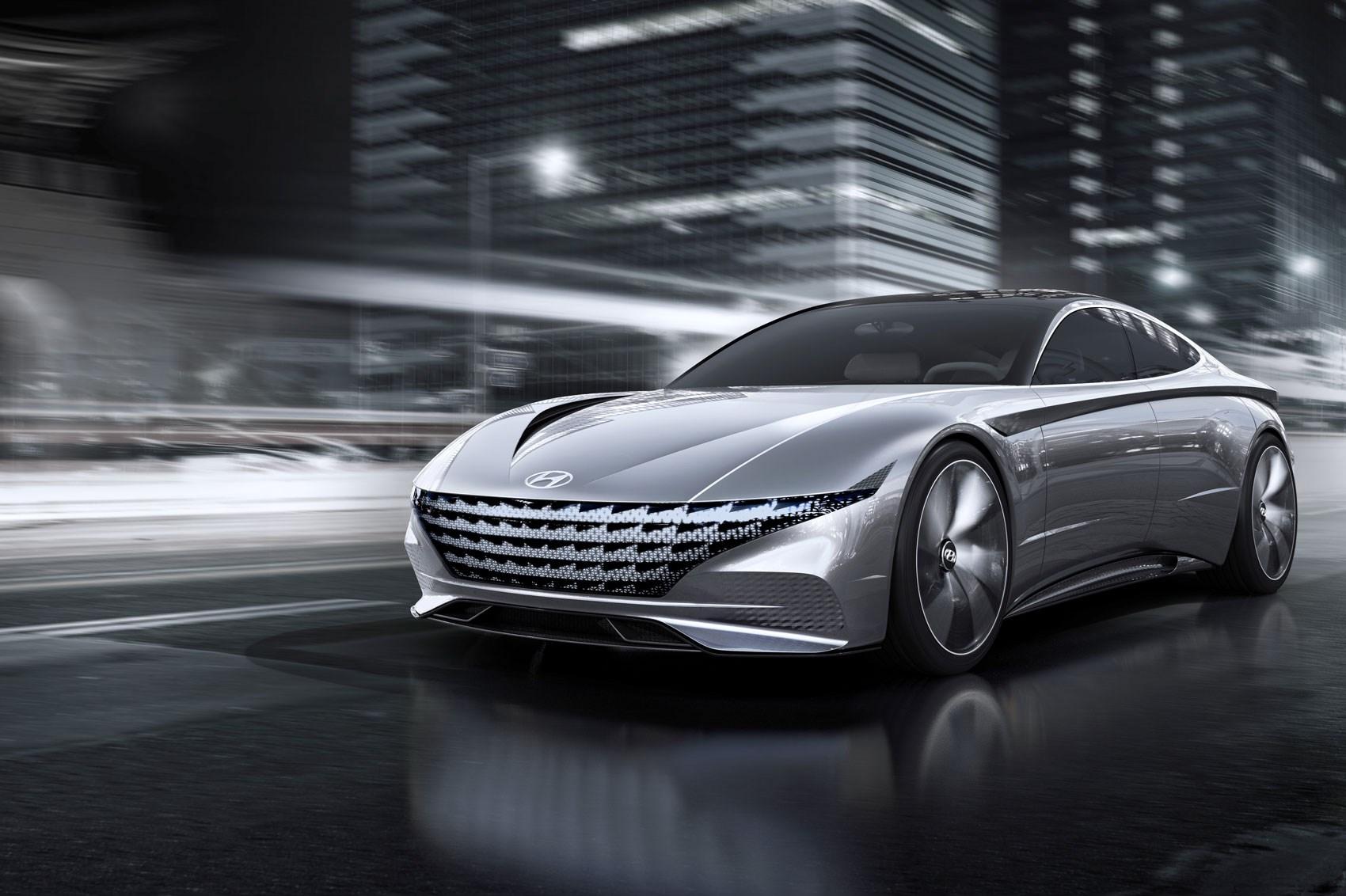 hyundai previews le fil rouge concept car | car magazine