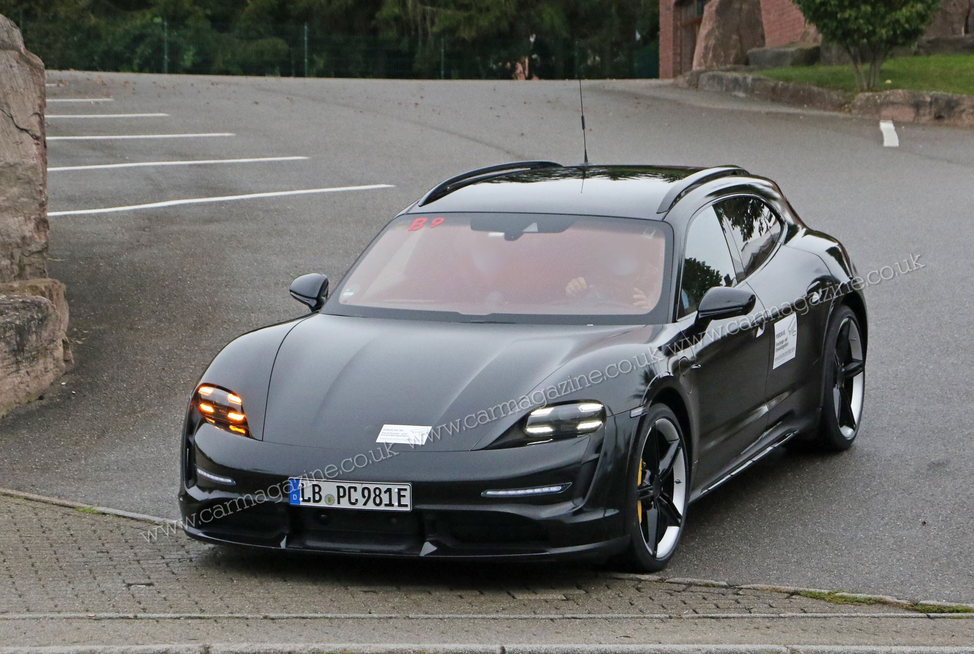 Porsche Taycan Cross Turismo Electric Crossover Spied In The Us Car Magazine