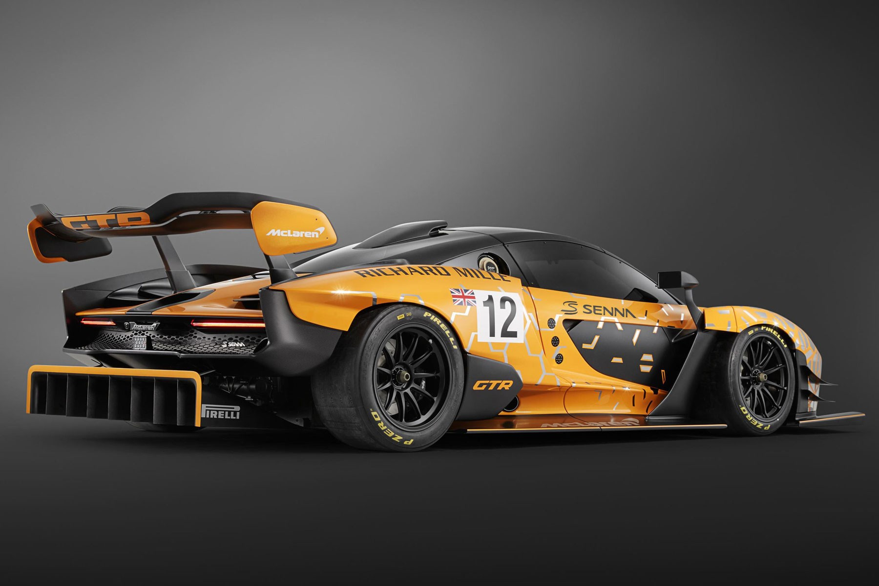 Mclaren Senna Gtr Concept Uncompromising Supercar Gets Even More Extreme Track Only Version