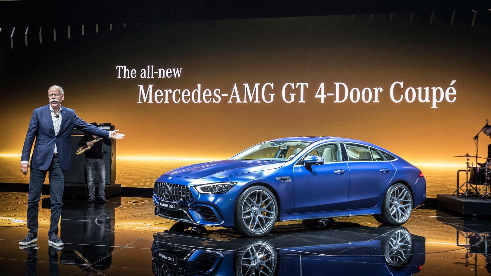 ... Merecedes AMG GT 4 Door Front Seats ...