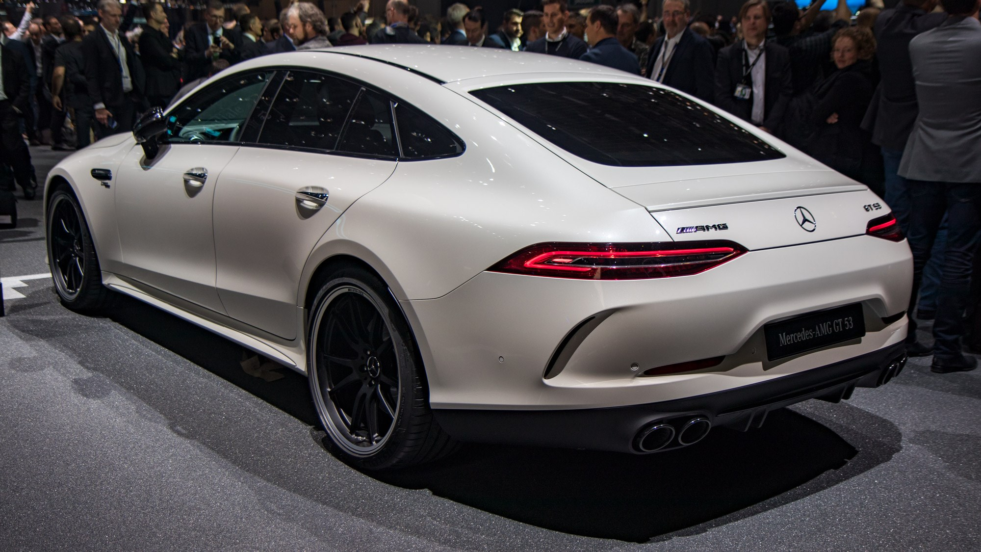 ... Mercedes AMG GT 4 Door Rear ...