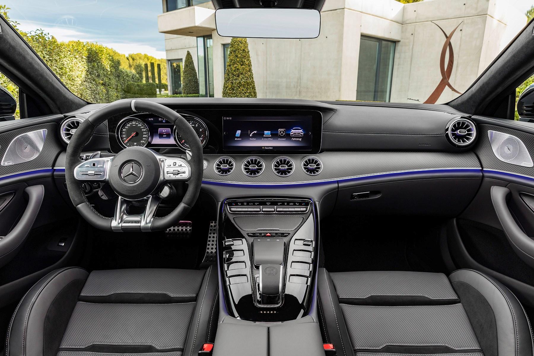 mercedes amg gt 4 door first ride impressions car magazine. Black Bedroom Furniture Sets. Home Design Ideas
