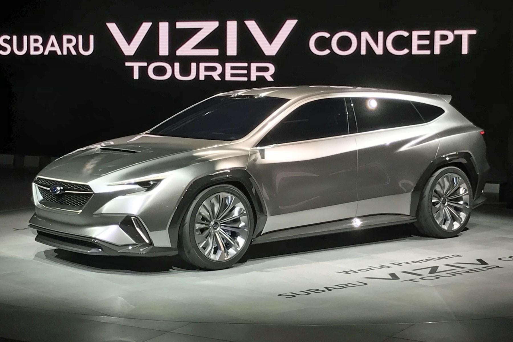 Subaru Viziv Tourer Concept At The 2018 Geneva Motor Show