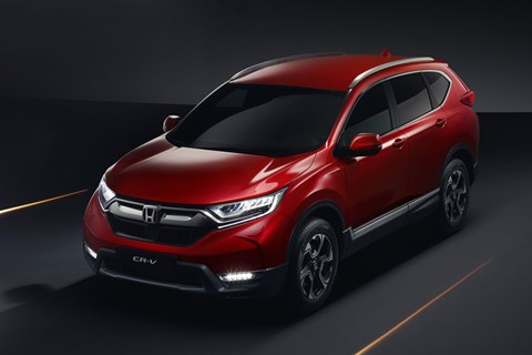 Front view of the 2018 Honda CR-V - have you spotted the difference yet?