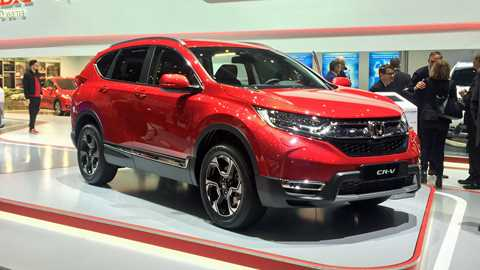 New Honda CR V At The 2018 Geneva Motor Show