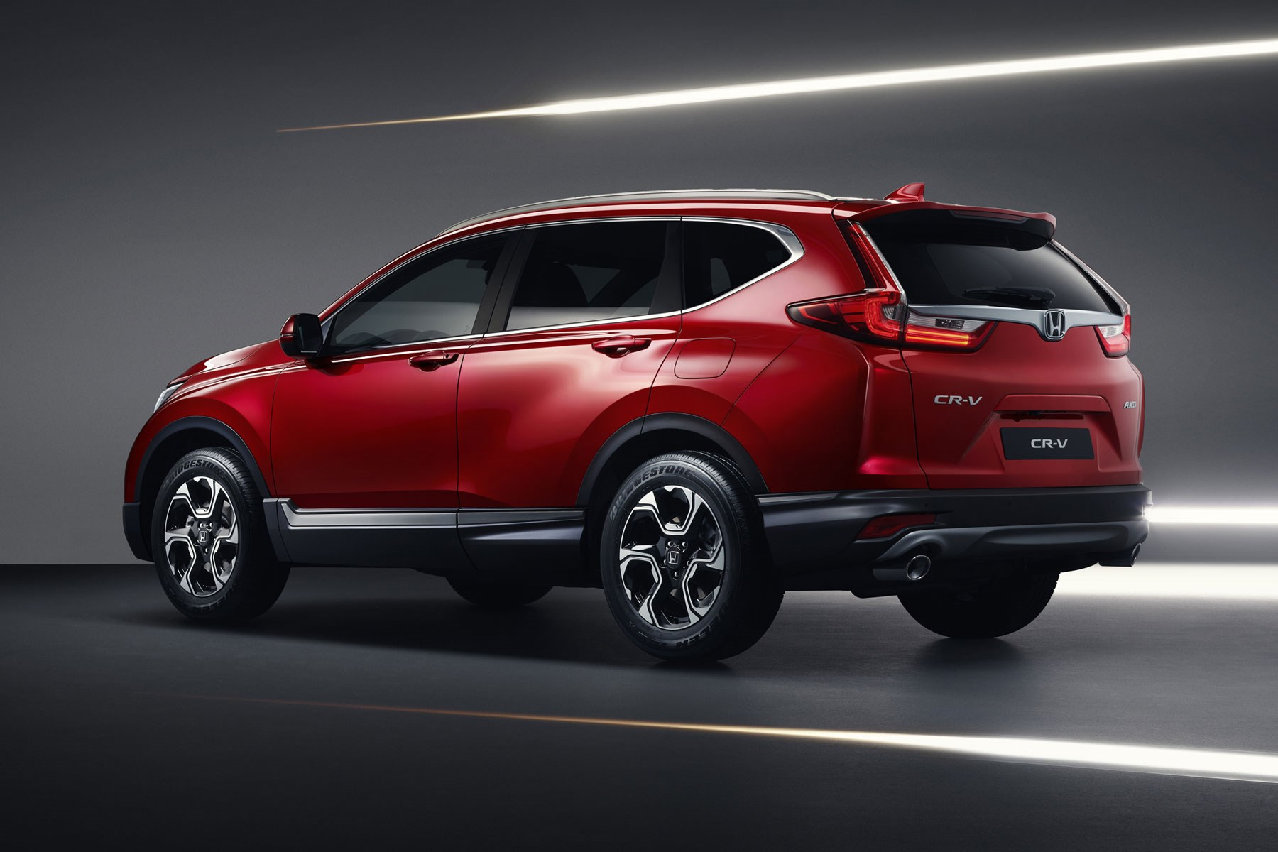 New Honda CR-V at the 2018 Geneva motor show ...