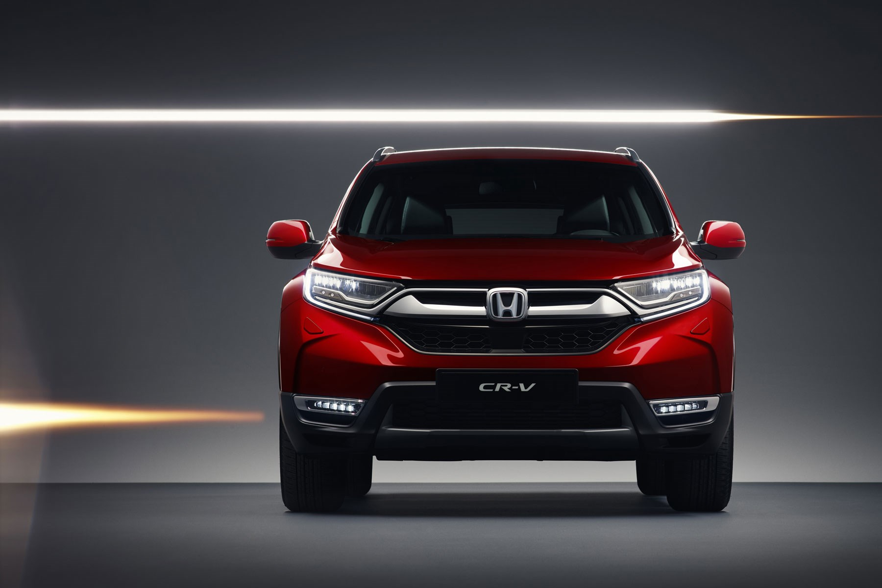 Honda Cr V 2018 At The Geneva Motor Show