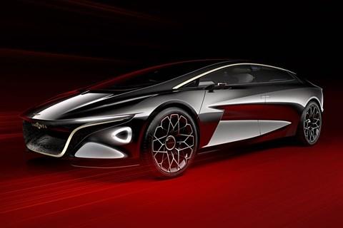 Lagonda concept car at Geneva motor show 2018