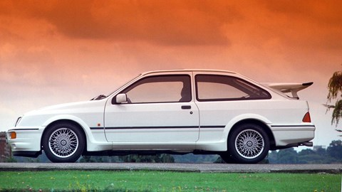 Ford Sierra Cosworth whaletail