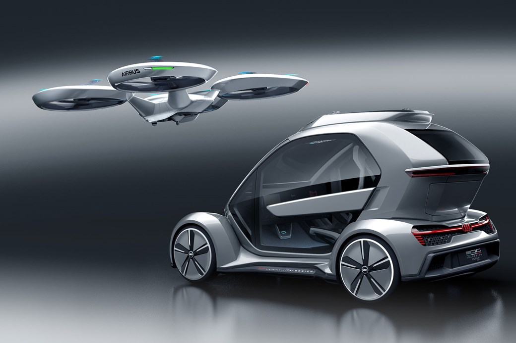 Ground Module Has Greatest Amount Of Audi Influence In Pop.Up Next Flying  Car