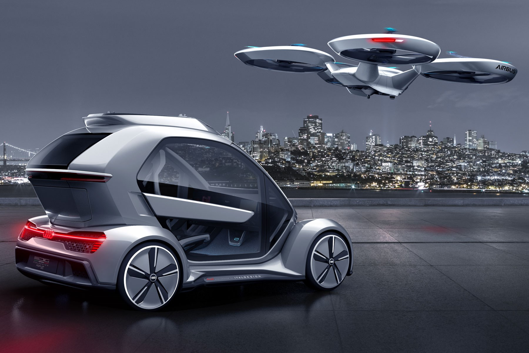 Flying Car Back To The Future