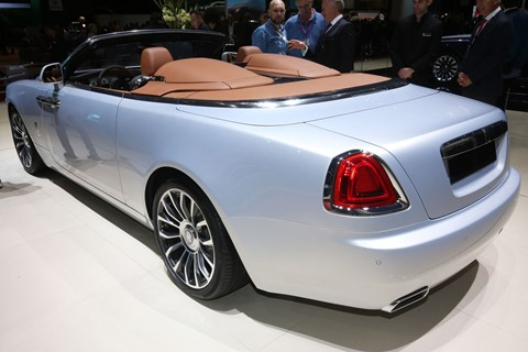 Rolls-Royce Dawn Aero Cowling at the 2018 Geneva motor show