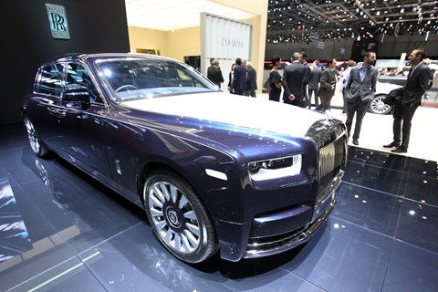 A Moment in Time Rolls-Royce Phantom Extended Wheelbase at the 2018 Geneva motor show