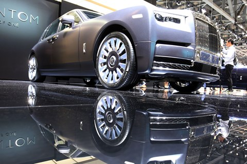 Rolls-Royce The Gentleman's Tourer Phantom at the 2018 Geneva motor show