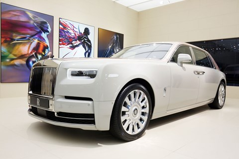 Rolls-Royce Phantom Extended Wheelbase Whispered Muse at the 2018 Geneva motor show