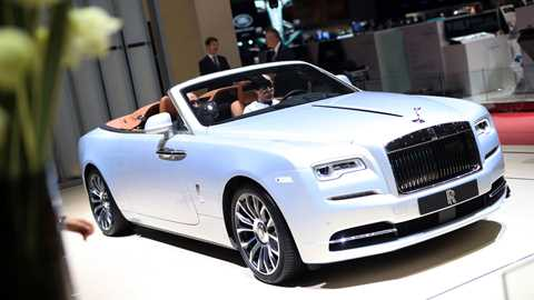 Rolls Royce At The 2018 Geneva Motor Show