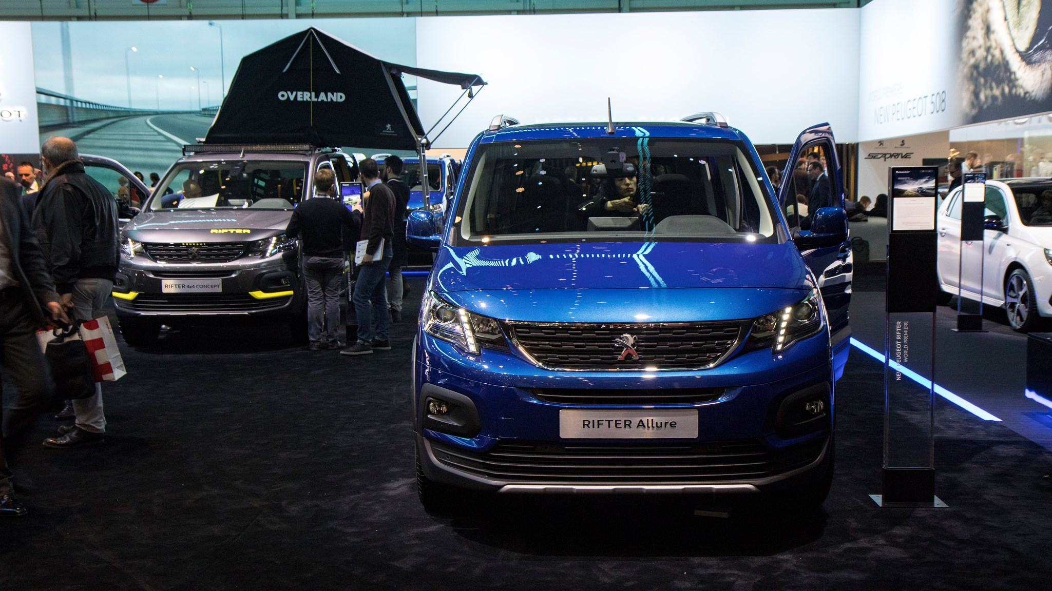 peugeot rifter uk price of mpv revealed car magazine. Black Bedroom Furniture Sets. Home Design Ideas